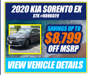 2020 Kia Sorento EX Savings Up To $8,799 Off MSRP
