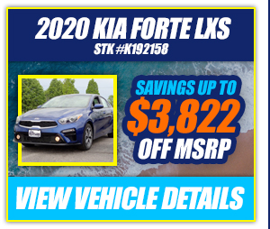 2020 Kia Forte LXS Savings Up To $3,822 Off MSRP