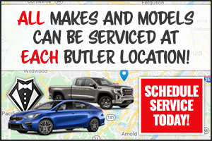All Makes And Models Can Be Serviced At Each Butler Location