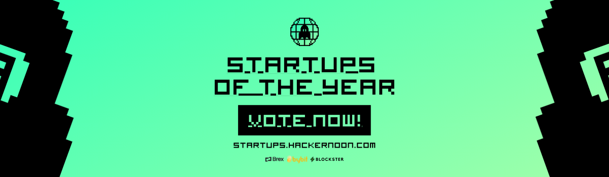 Vote for 2021's Startups of the Year with Hacker Noon!