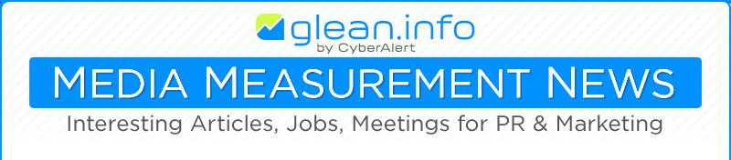 Glean.info Media Measurement Newsletter