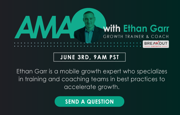 Ethan Garr is our guest in this week's Ask Me Anything Session