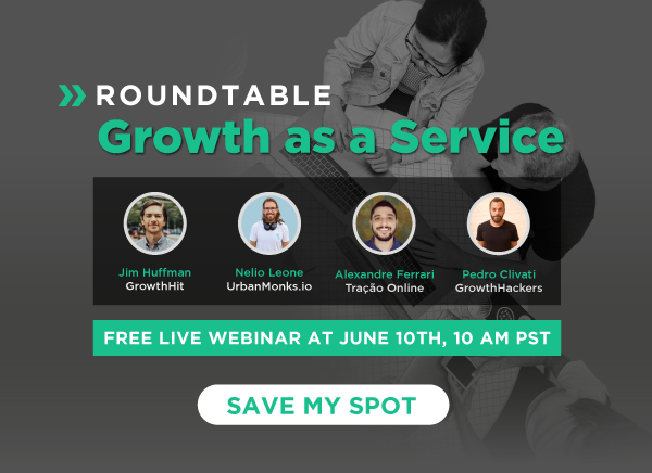 Join this week's roundtable on Growth as a Service
