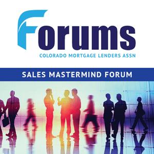 Sales Mastermind Forum - Sept 2020