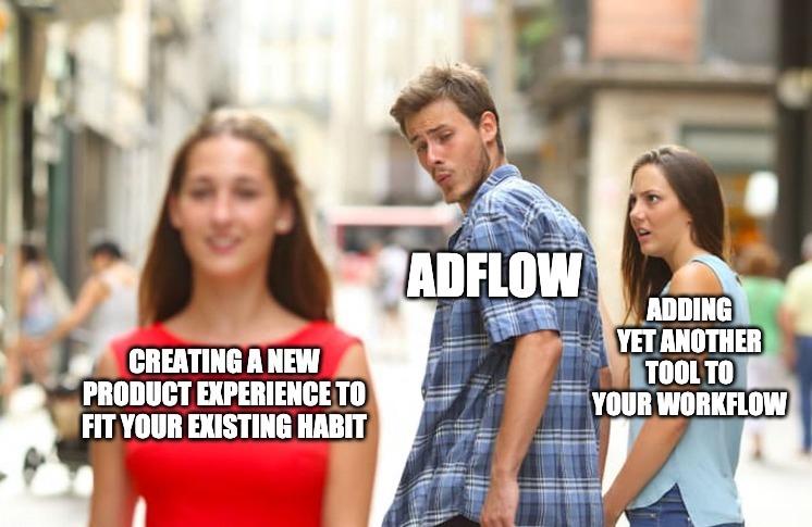 Adflow extension meme